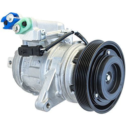 (Denso 471-0400 New Compressor with Clutch)