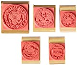 Center Enterprise CE104 Coin Tails-1/5/10/25/50 Stamps (Pack of 5)