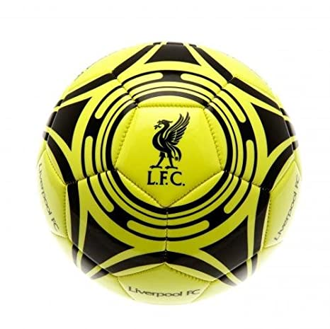 Liverpool F.C. - Balón de fútbol oficial firmado con el escudo del ...