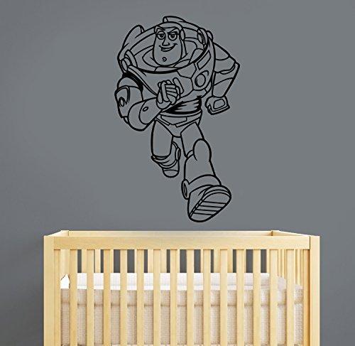 Cheap Buzz Lightyear (Buzz Lightyear Wall Decal Toy Story Vinyl Sticker Movie Decorations for Home Kids Boys Room Nursery Bedroom Decor tsto1)