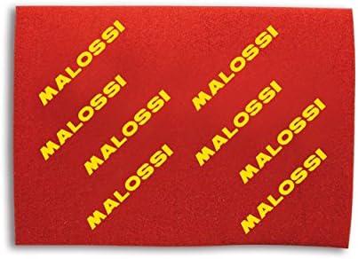 SPESSORE 16 MM FOGLIO MALOSSI.FILTRE ARIA FORMATO A3 40 X 30 CM-DOUBLE RED SPONGE