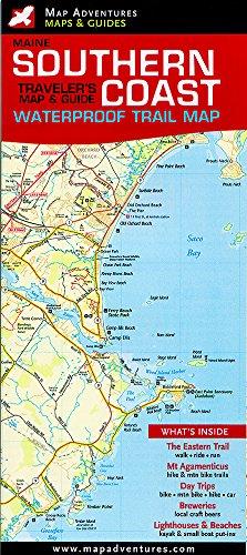 Southern Coast Trail Map (waterproof): Angela Faeth