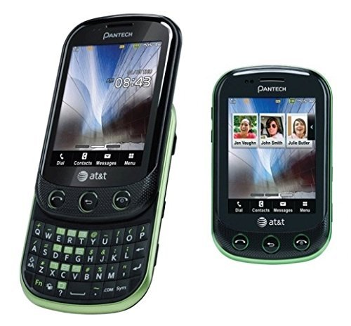 Pantech Pursuit 2 P6010 Unlocked GSM 3G Slider Cell Phone w/ Touchscreen and Physical Keyboard ()