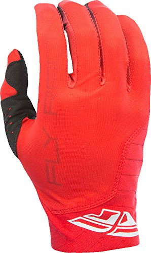Fly Racing Unisex-Adult Pro Lite Gloves (Red, (Fly Pro Lite Gloves)