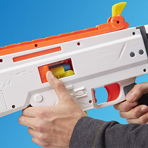 51uoahlqv5L - NERF Fortnite AR-Durrr Burger Motorized Blaster -- Customizing Stickers, 20 Darts, 10-Dart Clip -- for Youth, Teens, Adults (Amazon Exclusive)