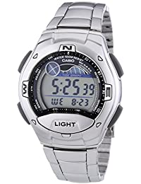 W-753D-1AVES Mens Collection Blue Steel Digital Watch