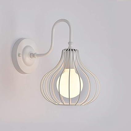 CSDM.AI Vintage Industrial Metallo Lampada da Parete, Moderna LED ...