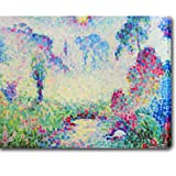 This museum quality canvas art is painted with vibrant colors and fine details. Gallery wrapped and ready to hang, it is absolutely beautiful and will bring you endless complements.Artist: Jean MetzingerTitle: Paysage PointillisteProduct type: Galler...