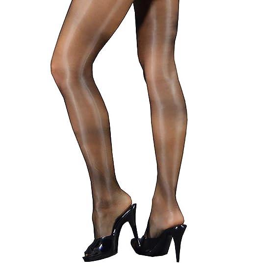 2f275586a3b Shiny Pantyhose sheer to waist sandal toe no gusset  Amazon.ca  Clothing    Accessories