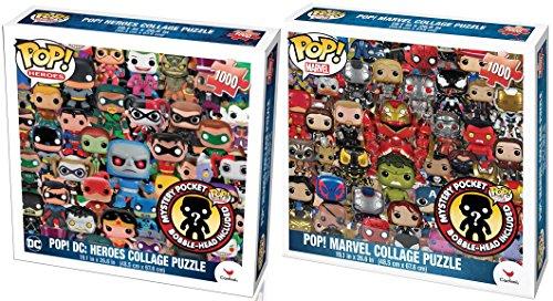 1000 piece super hero puzzle - 8