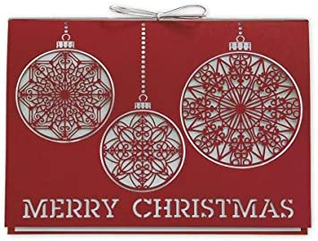 Simply Merry Laser Cut Christmas Cards