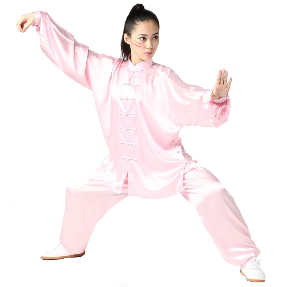 ZooBoo Womens South Korea Silk Kung Fu Tai Chi Uniform