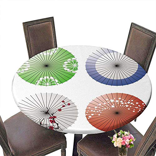 PINAFORE Round Premium Table Japanese Umbrella for Indoor, Outdoor 40