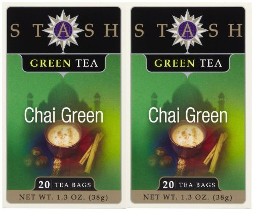 Stash Tea Chai Green Tea, 20 ct, 2 pk