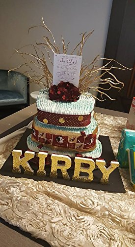FSU Diaper Cake, with Personalization by Southern Wishes Craft Company