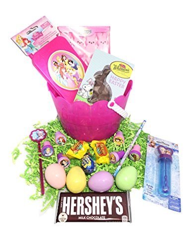 Frozen Easter Basket Bundle with Frozen Toys, Candy, and Eas