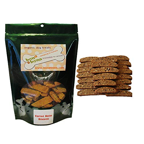 Carrot Anise Biscotti 5oz Bag (Biscotti Anise Seed)