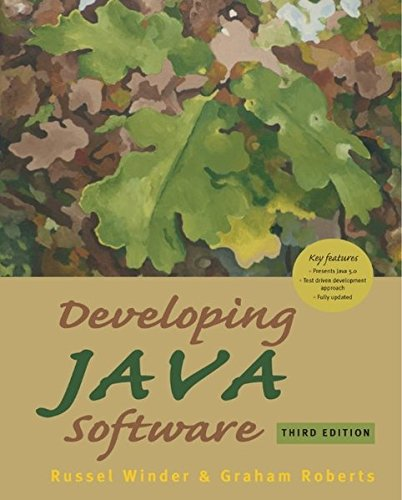 Developing Java Software (third edition)