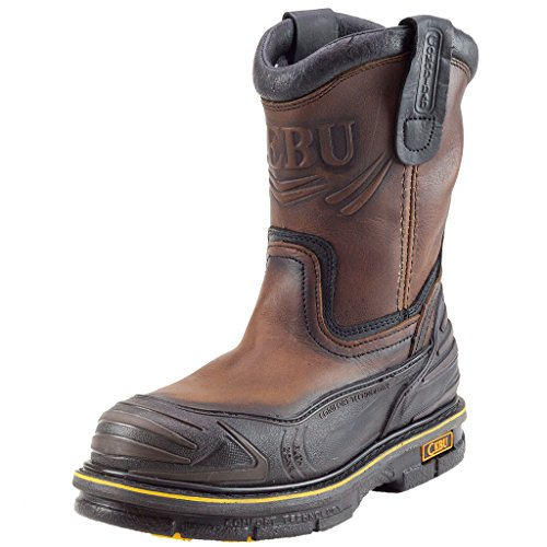 "Cebu Menns Guardax 10"" Arbeid Boot Brown"