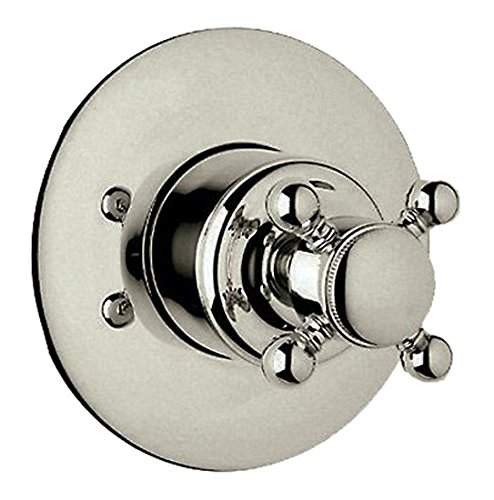 Rohl 4 Port 3 Way - Rohl A2700XCSTNTO Country 4-Port 3-Way Diverter Trim, Satin Nickel