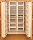 Rev-A-Shelf 57'' Swing Out Pantry Kit Organizer, Natural