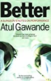 Better by Atul Gawande front cover