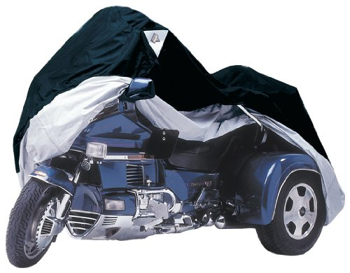 Dust Trike Cover - Nelson-Rigg Black/Silver X-Large TRK355 Trike Cover