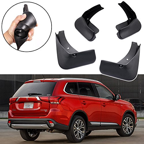 SPEEDLONG Car Mud Flaps Splash Guards Fender Mudguard for Mitsubishi Outlander 2016 2017 2018 2019