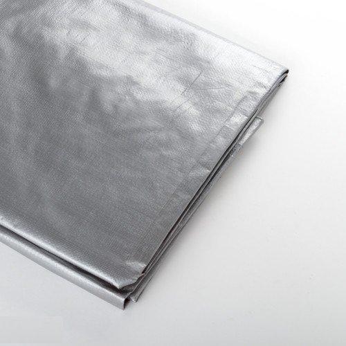 All Weather HD Silver Tarp 15'x40'