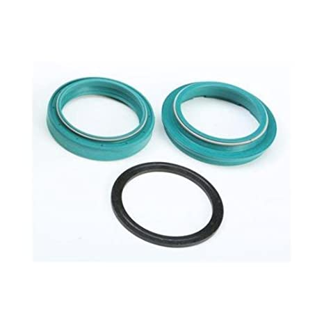 SKF 04-05 Suzuki GSXR600 Fork Seal and Wiper (43mm) (Green)