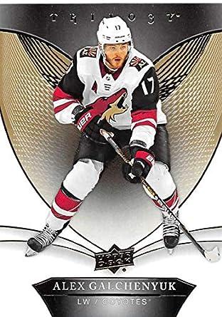 6ee8b09b8 2018-19 Upper Deck Trilogy  9 Alex Galchenyuk Arizona Coyotes NHL Hockey  Trading Card