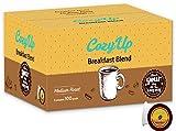 CozyUp 100-count K Cups Breakfast Blend Coffee for Keurig K-Cup Brewers, Medium Roast