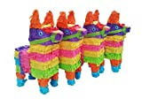 Aztec Imports, Inc. Mini Donkey Pinata Pack (4 pcs.)