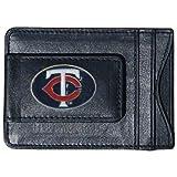 MLB Minnesota Twins Leather Cash and Card Holder