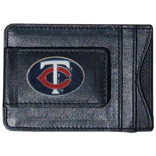 (Siskiyou MLB Minnesota Twins Leather Cash and Card Holder)