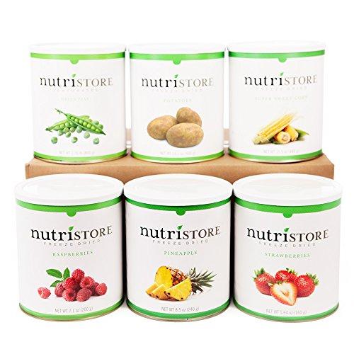 Nutristore Fruit & Veggie Variety 6pk