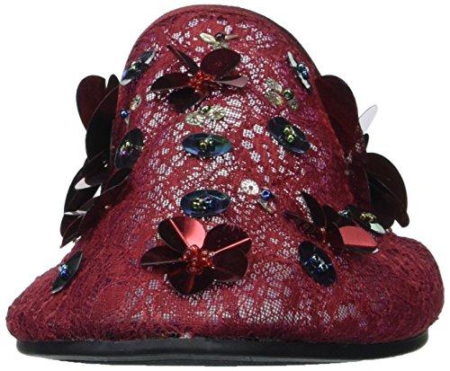 Flat Wine Women's Candy Sandal amp; Rock Lulah zgTffI