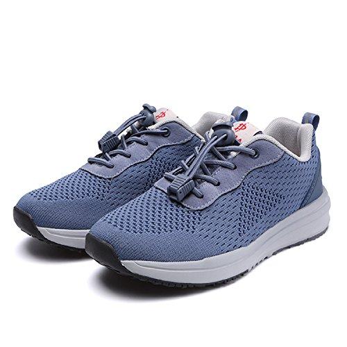 Sneakers Bleu Femme Course Entraînement Homme Fitness Chaussures Gym H mastery Tennis Running Sport De Athlétique Baskets Confortable ZWaBw