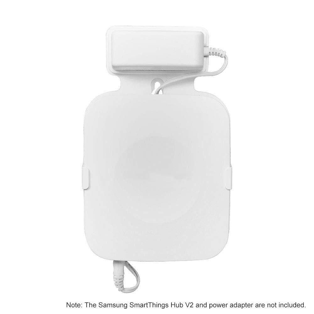 Wei/ß OWSOO Wandhalterung 1ST f/ür Samsung SmartThings Hub V2