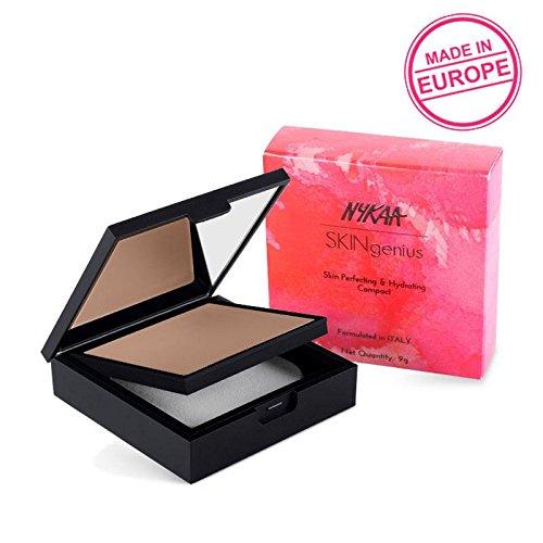 Perfecting Polish Skin - Nykaa SKINgenius Skin Perfecting & Hydrating Compact - Toasty Tan 05