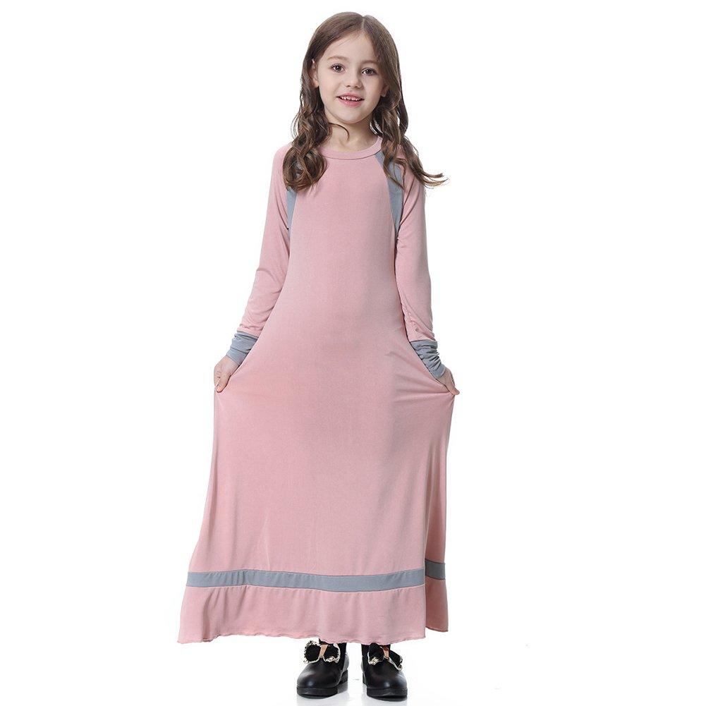 Bigmai Vestido Largo para Niña de de 19999 Oriente Medio Musulmán ...