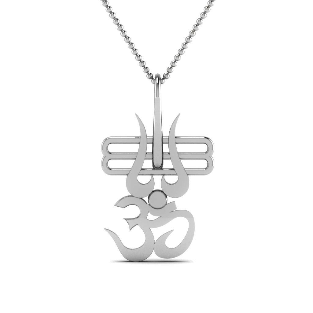 Buy Pendants, om pendant, Mens pendant, Sterling Silver 925, Mens Pendants  at Amazon.in