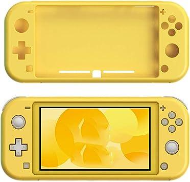NS Lite - Carcasa de Silicona Antideslizante para Nintendo Switch Lite Console Amarillo: Amazon.es: Electrónica