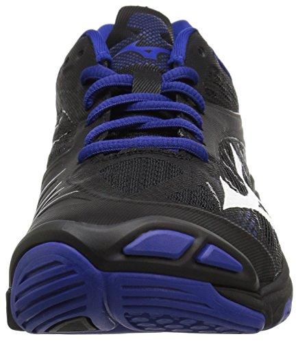 Wave Z4 Lightning Shoe Royal Mizuno Volleyball Black Women's Aq8xg