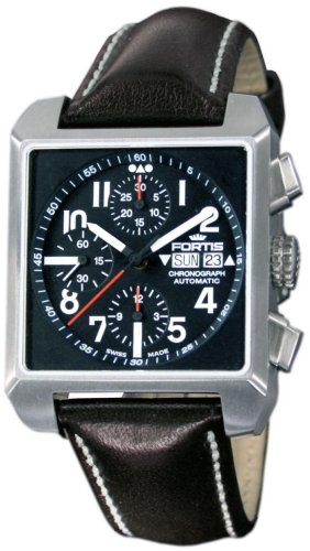Fortis Pretend - Moth - Square Chronograph Men Watch 667.10.41