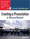 Creating a Presentation in PowerPoint, Tom Negrino, 0321278445