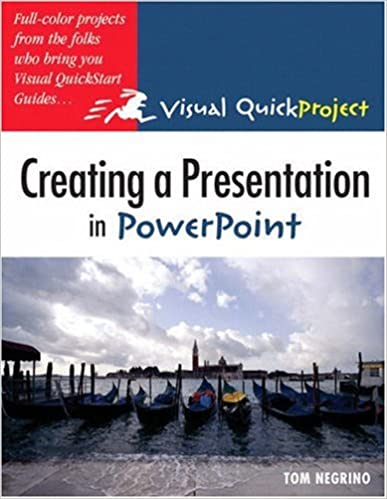 Creating a Presentation in PowerPoint: Tom Negrino