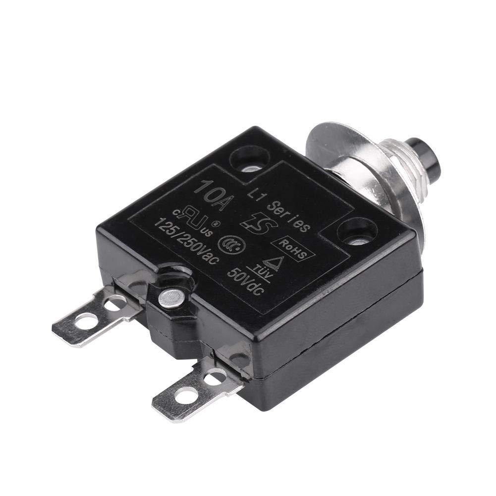KIMISS Manual Reset Interruttore termico Interruttore sovratemperatura Protezione sovraccarico(18A)