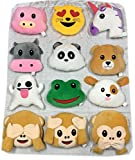 Gloworks Emoji Animal Pillows Set (24)