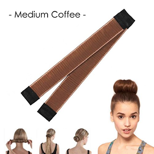 (OvedcRay Fashion Women Twist Hair Bun Maker Donut Styling Braid Holder Quick & Fast Pin)
